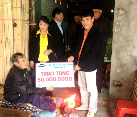 Vinamilk ho tro xay nha tinh thuong tai Thai Binh hinh anh