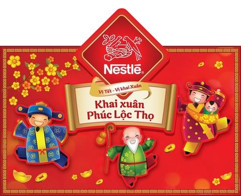 Nestle Viet Nam ra mat chuong trinh 'Khai xuan Phuc Loc Tho' hinh anh