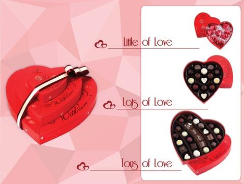 Bo suu tap qua tang Valentine 2015 tu D'art Chocolate hinh anh