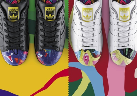 Superstar: adidas Originals ket hop voi Pharrell Williams hinh anh