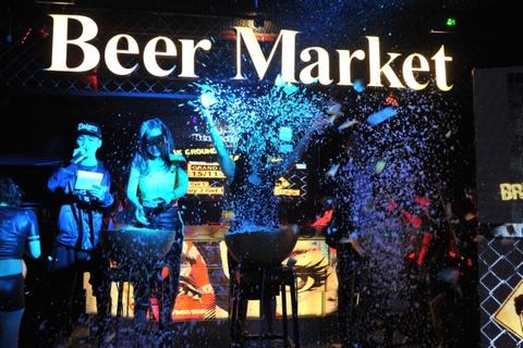 beer market underground hinh anh