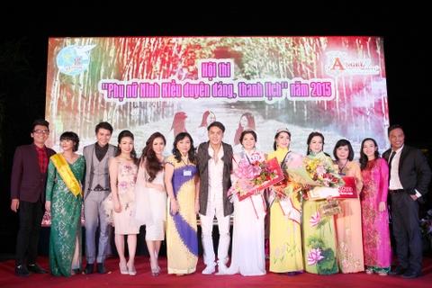 Hoi thi 'Phu nu Ninh Kieu duyen dang, thanh lich' dip 20/10 hinh anh