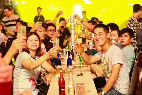 exbeerience fest hinh anh