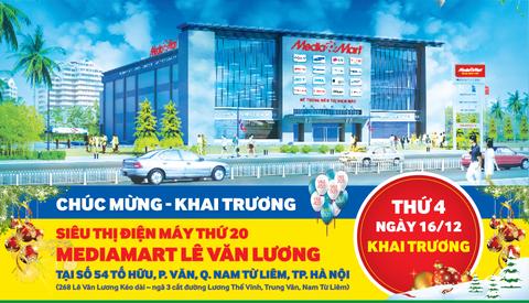MediaMart khai truong sieu thi dien may thu 20 tai Ha Noi hinh anh