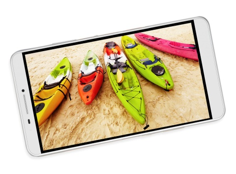 Lenovo PHAB: Phablet man hinh 7 inch, ho tro 2 SIM, 4G LTE hinh anh
