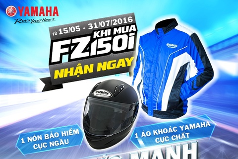 Yamaha Motor Viet Nam trien khai khuyen mai danh cho FZ150i hinh anh