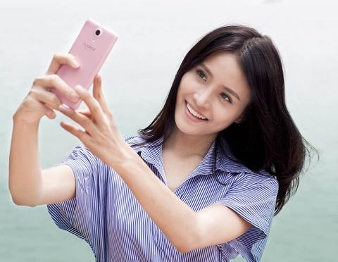 LAI Yuna S: Camera chuyen selfie 8 MP, pin 3.000 mAh hinh anh