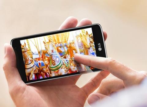 LG K7: Smartphone gia re phu hop voi sinh vien hinh anh