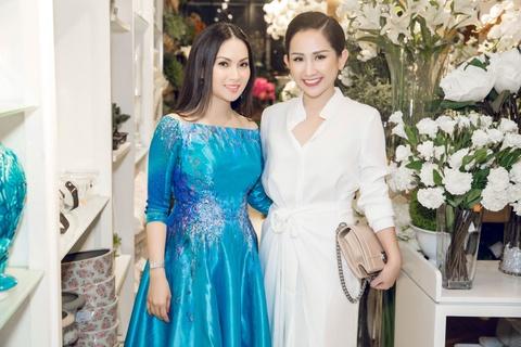 Fashionista Tram Nguyen hoi ngo nu ty phu Ha Phuong hinh anh