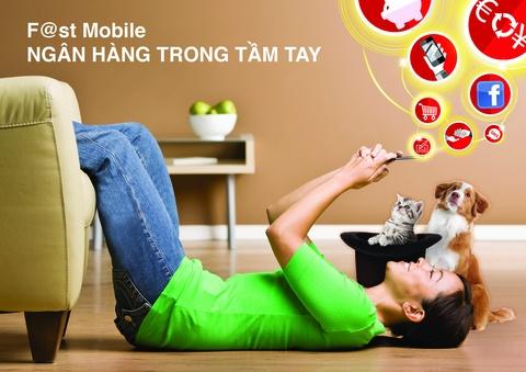 Dich vu mobile banking tao ban sac rieng cho ngan hang hinh anh