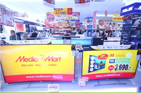 MediaMart khai truong sieu thi dien may thu 25 tai Ha Noi hinh anh