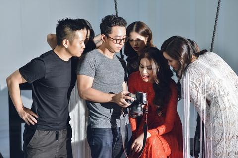 Ha Anh, Pham Huong, Lilly Nguyen huong dan dan em tao dang hinh anh 4