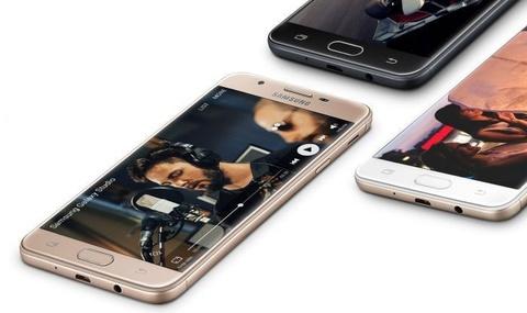 Mua Galaxy J7 Prime, nhan qua 1 trieu dong o Hoang Ha Mobile hinh anh
