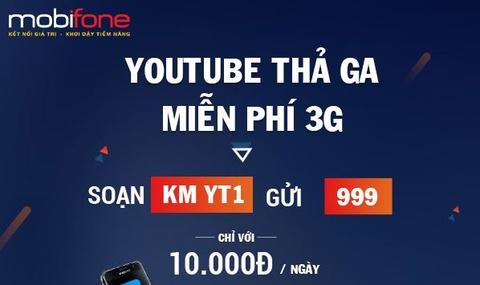 MobiFone uu dai lon cho khach hang su dung Youtube Data hinh anh