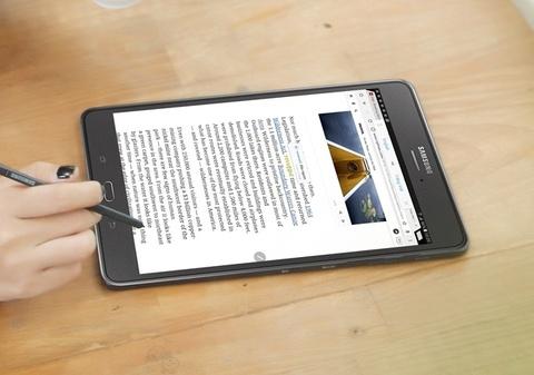 Trai nghiem but S Pen cua Galaxy Tab A 2016 hinh anh