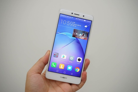 Ro ri hinh anh Huawei GR5 2017: Cam bien van tay, camera kep hinh anh