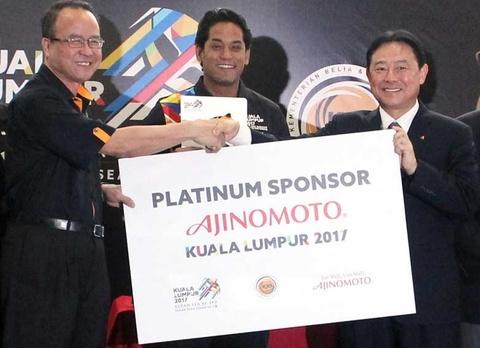 Ajinomoto tai tro bach kim cho SEA Games va ASEAN Para Games hinh anh