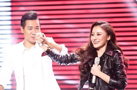 Huyen Dung nhan 'con mua' loi khen sau vong doi dau tai The Voice 2017 hinh anh