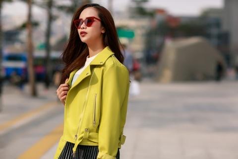 Sella Truong phoi do mau sac, noi bat tai Seoul Fashion Week hinh anh 5