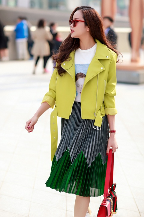 Sella Truong phoi do mau sac, noi bat tai Seoul Fashion Week hinh anh 6