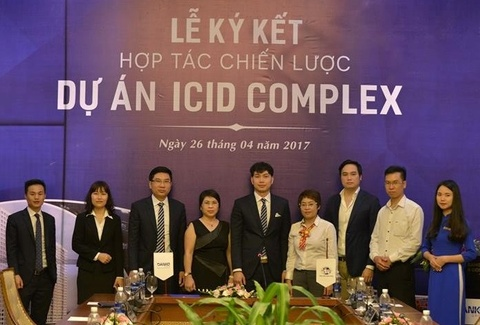 Danko Group ky ket phan phoi 646 can ho ICID Complex, Ha Noi hinh anh