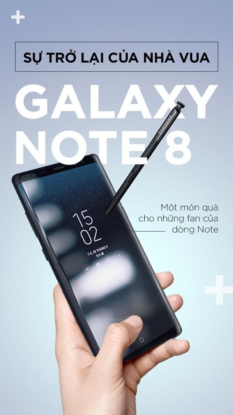 Galaxy Note 8: Su tro lai cua nha vua hinh anh 1