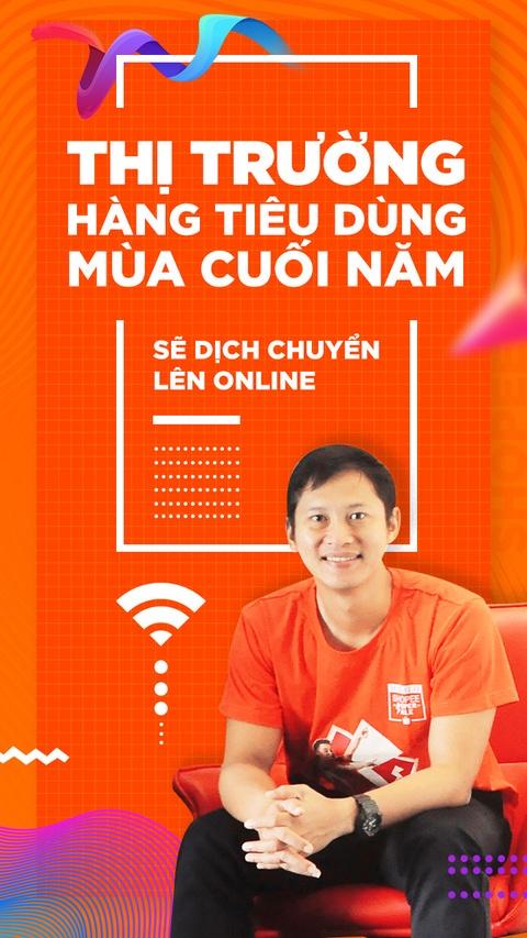 'Thi truong hang tieu dung mua cuoi nam se dich chuyen len online' hinh anh 1