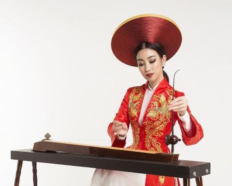 Hoa hau My Linh no luc quang ba van hoa dan toc tai Miss World 2017 hinh anh