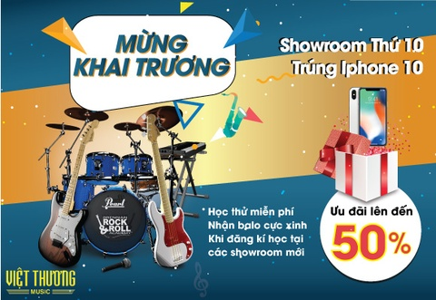 Viet Thuong Music dong loat khai truong 4 showroom moi tai TP.HCM hinh anh