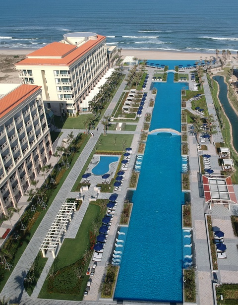 Marriott ra mat khu nghi duong Sheraton Grand dau tien tai Dong Nam A hinh anh 3