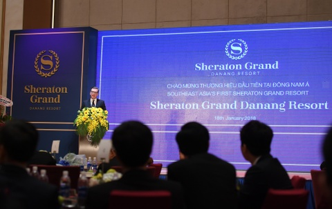 Marriott ra mat khu nghi duong Sheraton Grand dau tien tai Dong Nam A hinh anh 8