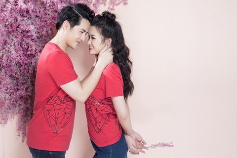 Dong Nhi - Ong Cao Thang ngot ngao trong bo anh don Valentine hinh anh