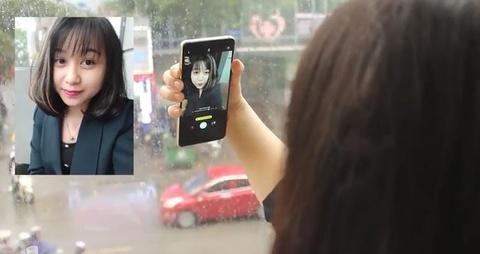 Gioi tre phan ung the nao truoc anh selfie cua minh tren Galaxy A8+? hinh anh