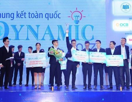 Chung ket Dynamic 2017: Ngoi vo dich goi ten DH Kinh te TP.HCM hinh anh
