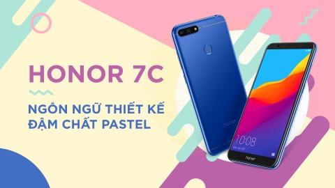Honor 7C: Ngon ngu thiet ke dam chat pastel hinh anh 2