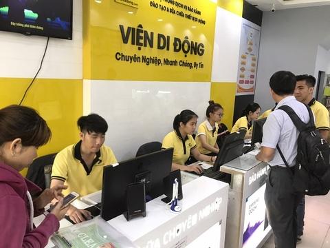 Thay 3.000 vien pin iPhone 6/6 Plus mien phi 100% tai Di Dong Viet hinh anh