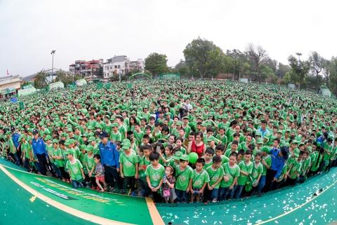 'Ngay hoi di bo' dang nho voi 20.000 hoc sinh Ha Noi hinh anh 13