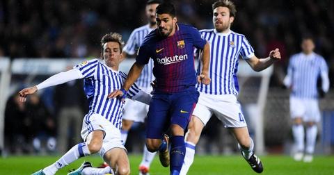 Vong cuoi La Liga: Cho Barcelona ruoc cup o Nou Camp hinh anh 1