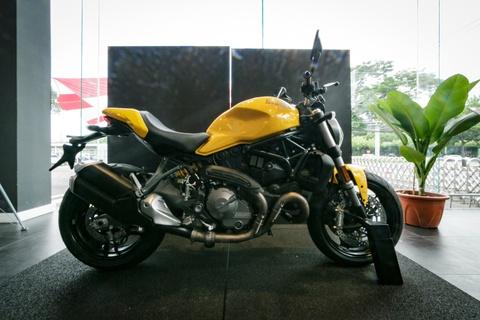Nuoc tang luc Compact dong hanh voi sieu xe Ducati Monster moi hinh anh 3