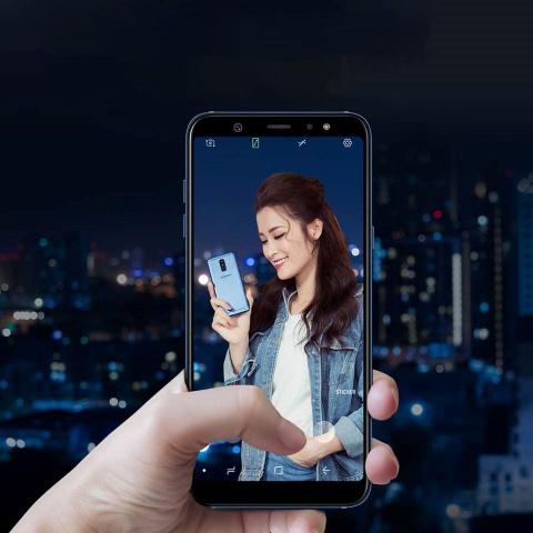 Galaxy A6/A6+: Smartphone tam trung so huu nhieu tinh nang cao cap hinh anh 2