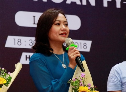 Hong Anh: 'Can thanh that khi den voi Lien hoan phim ngan FY' hinh anh