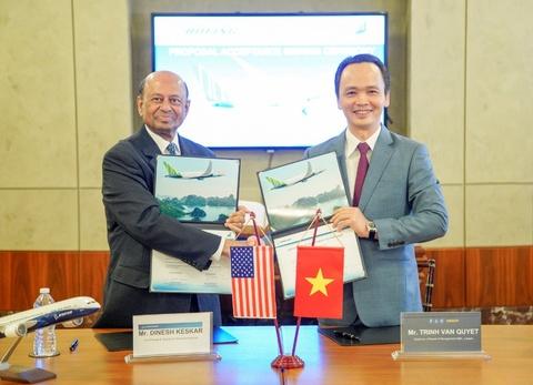 Dai gia Trinh Van Quyet mua 20 may bay Boeing 787-9 tri gia 5,6 ty USD hinh anh