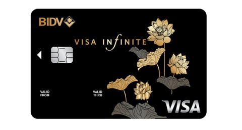 BIDV ra mat dong the Visa Infinite huong den khach hang thuong luu hinh anh