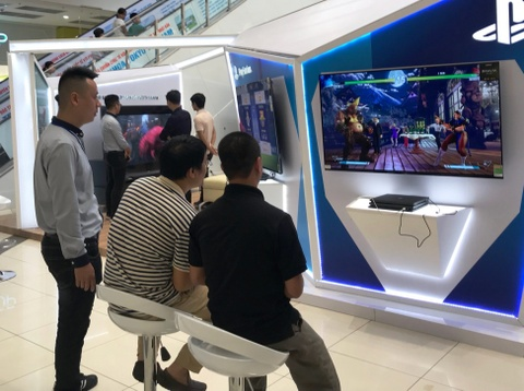 Trai nghiem am thanh Acoustic Surface, Playstation tren Bravia OLED TV hinh anh