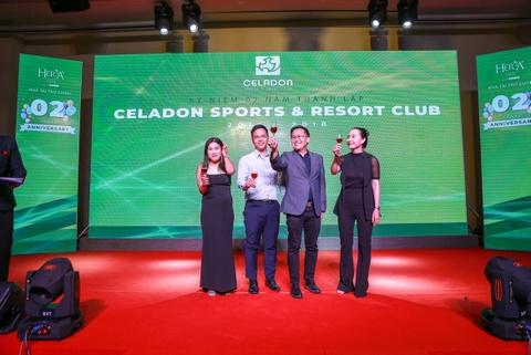 Gamuda Land ky niem 2 nam thanh lap Celadon Sports & Resort Club hinh anh