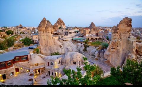 Den Cappadocia ngam khi cau khong lo tren bau troi cao nguyen hinh anh 7