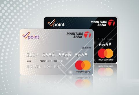Nhan doi tich diem cho mot hoa don voi the Vpoint - Maritime Bank hinh anh