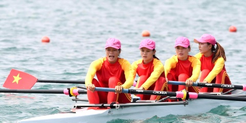 Rowing, Olympic Viet Nam 'sai canh vuon cao' tai dau truong ASIAD hinh anh
