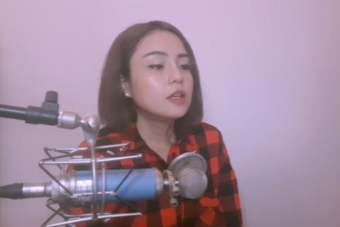 Thai Trinh, Trang Hy va loat sao Viet cover 'I never worry' hinh anh