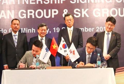 SK Group dau tu 470 trieu USD, so huu 9,5% co phan Masan Group hinh anh